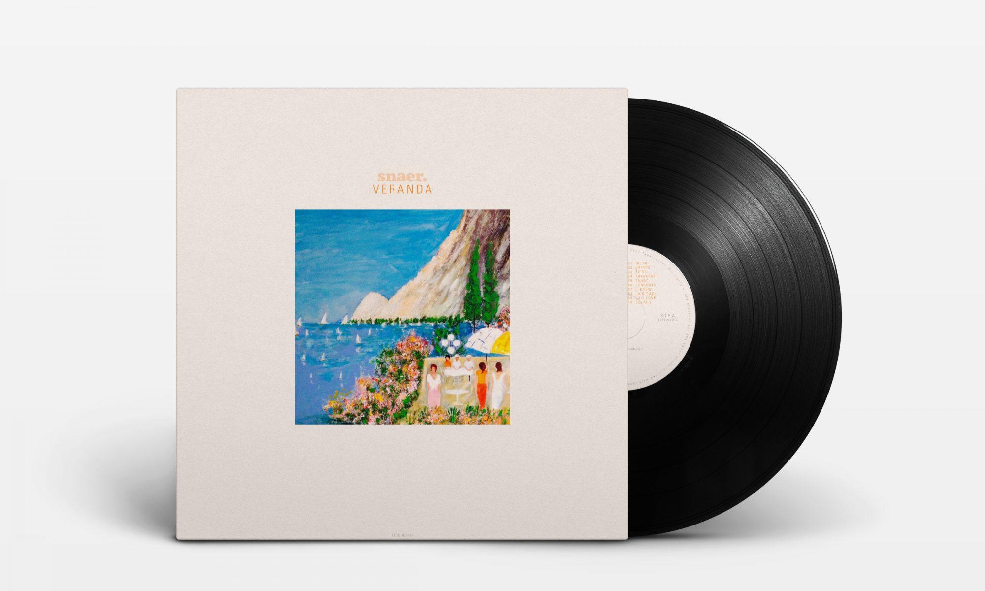 """snaer. - Veranda (12"""" LP - front)"""