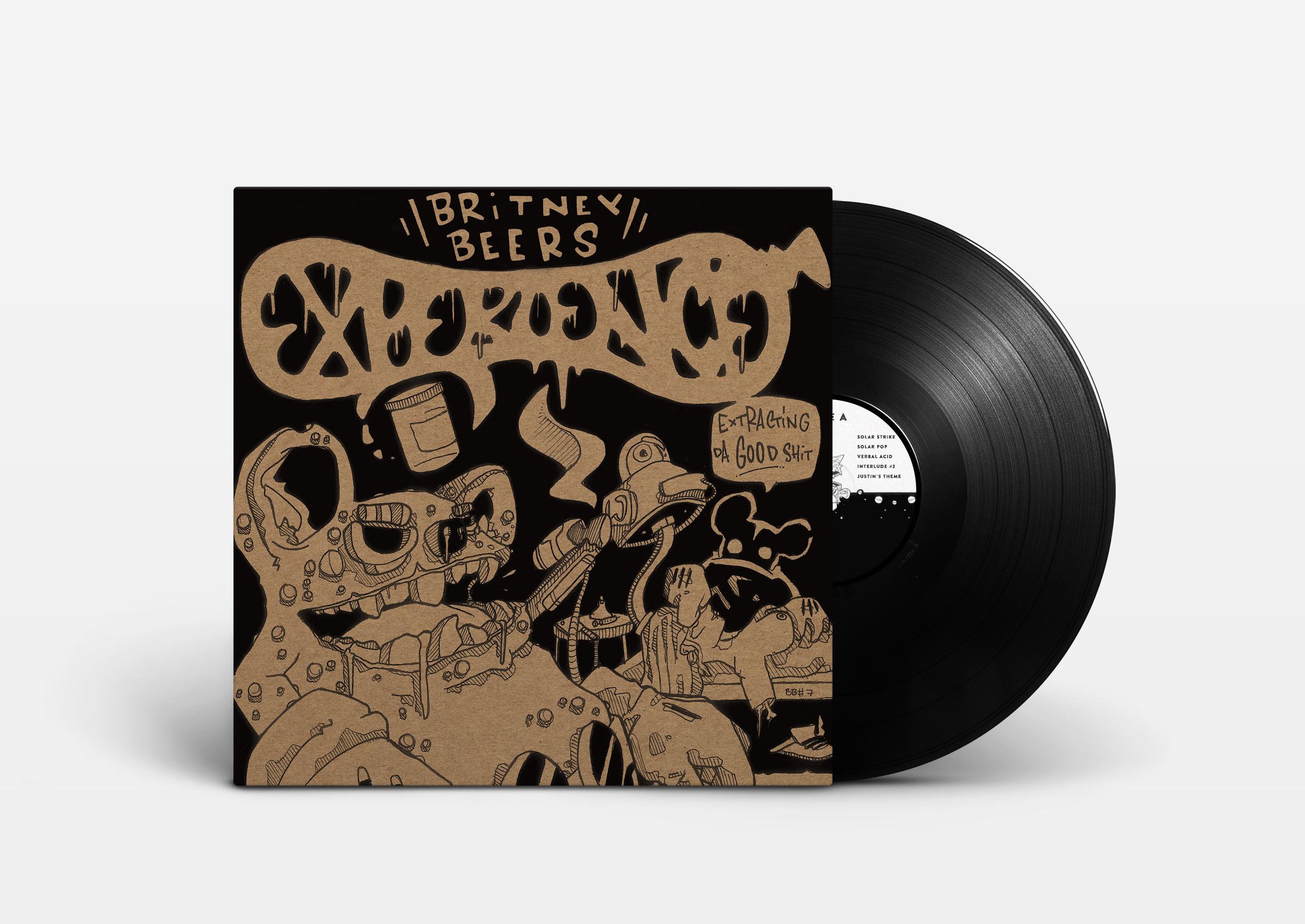 "Adlib Swayze - The Britney Beers Experience (12"" LP)"